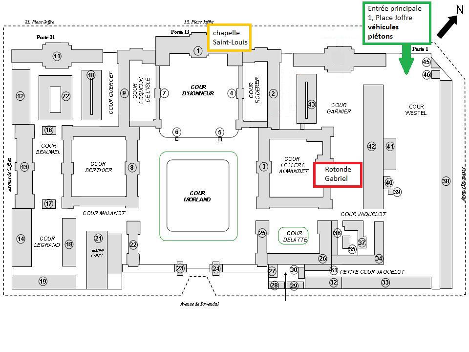 Plan École Militaire